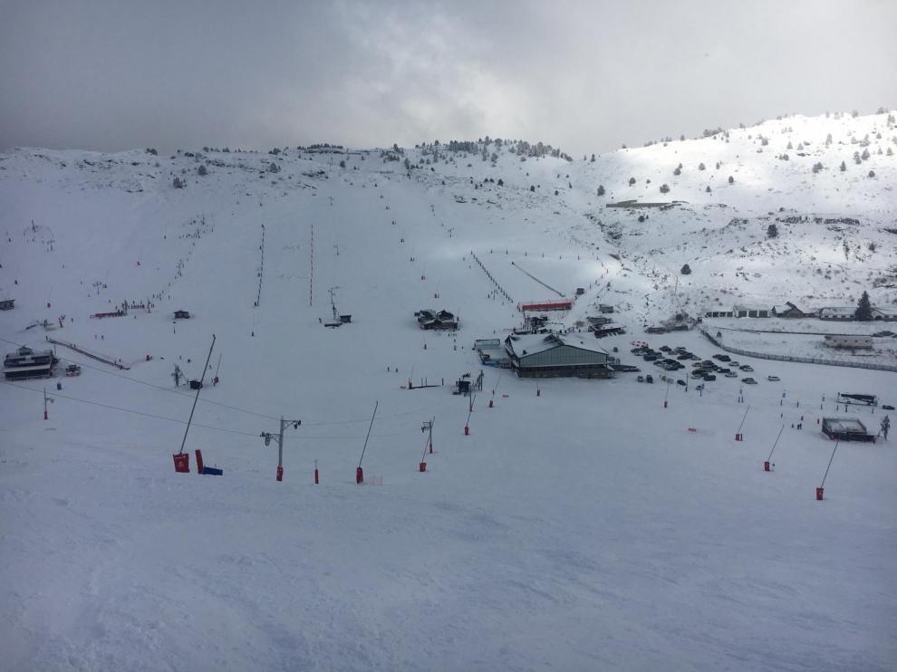 El Pirineo se encuentra en alerta por nevadas
