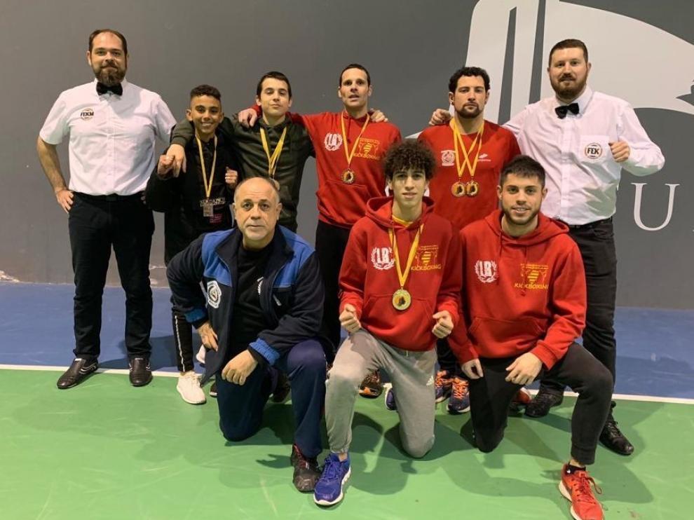 Binéfar y Somontano acumulan medallas en la primera fase en Borja