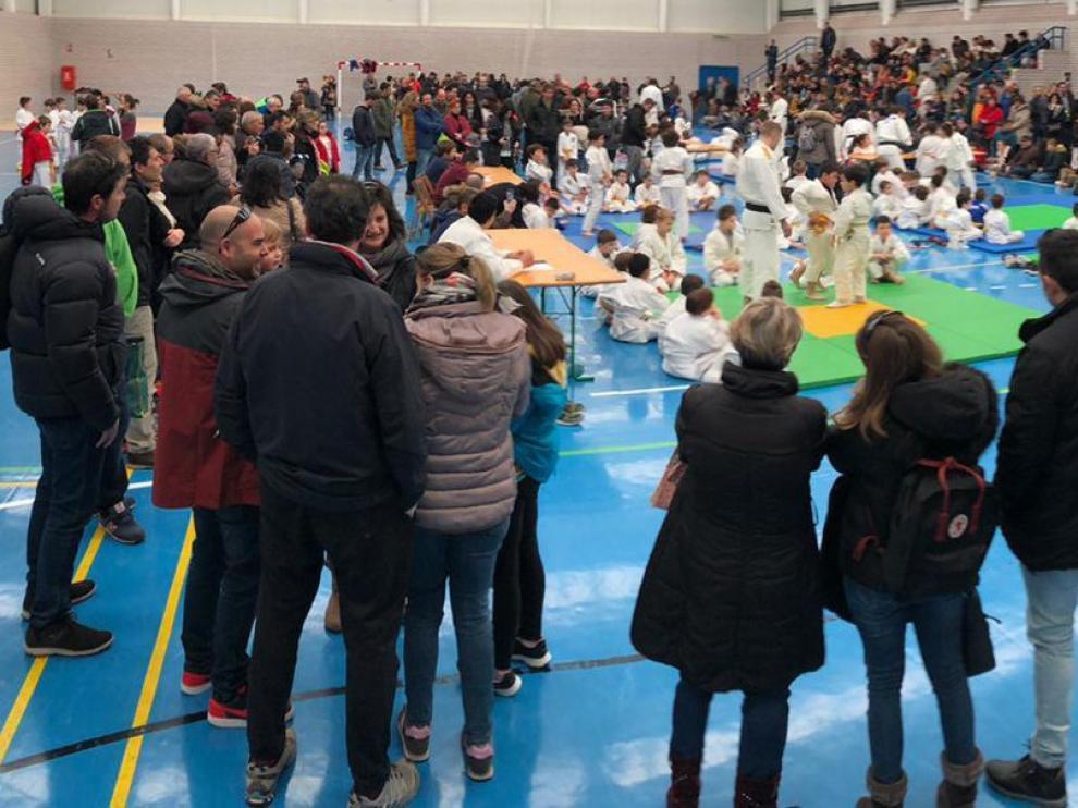 El II Encuentro Escolar de Tardienta, con 220 participantes