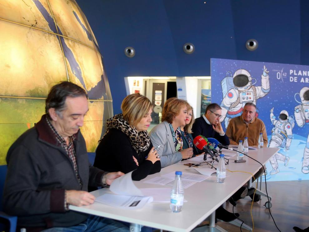 El Planetario programa visitas temáticas sobre el viaje a la Luna