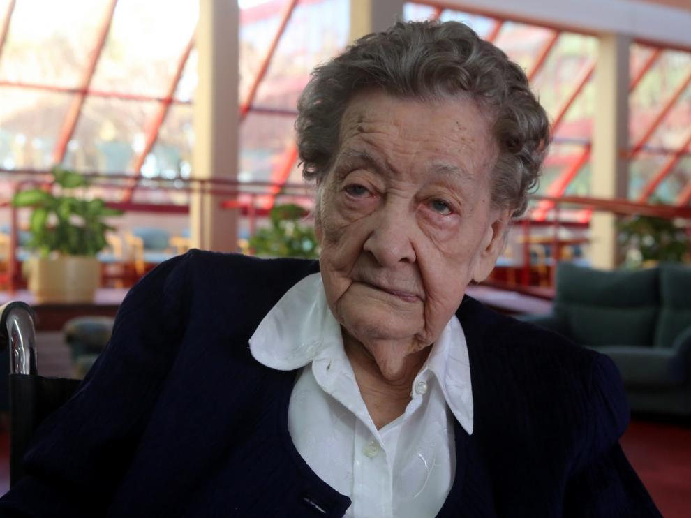 Irene Navarro cumple 100 años con una memoria envidiable