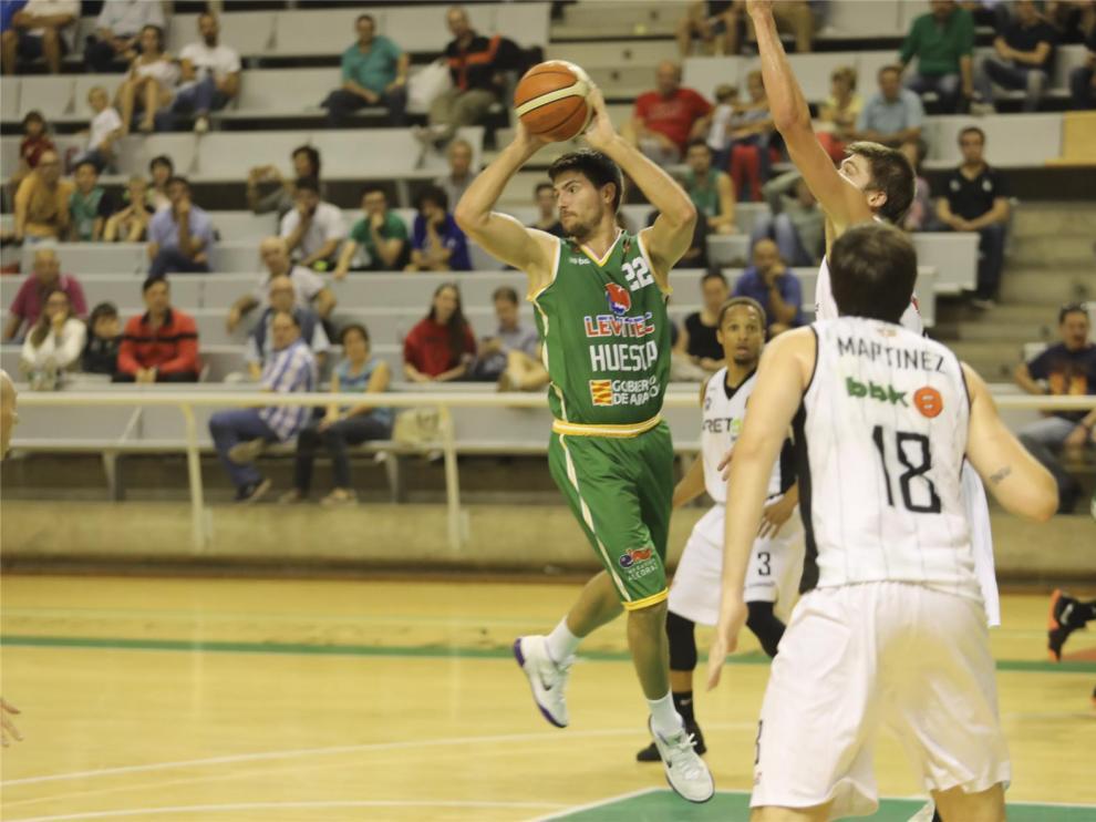 Levitec Huesca busca refugio ganador en el Palacio
