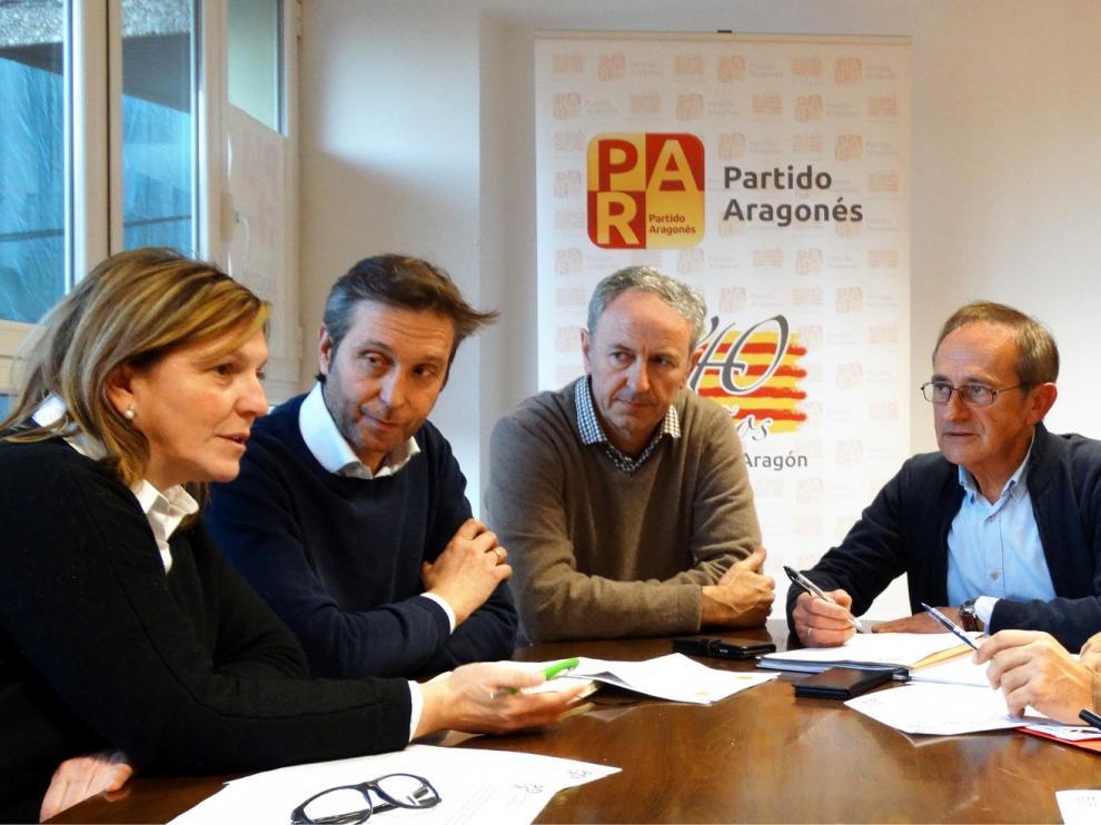 El PAR de Huesca prepara potentes enmiendas al proyecto de Presupuestos 2019