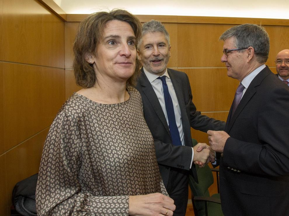 Guillén defiende las medidas en Aragón para reducir la vulnerabilidad social y personal en emergencias