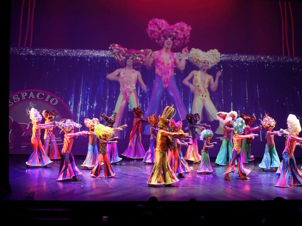 Las academias de baile hacen vibrar el Palacio de Congresos