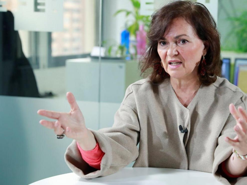 """Calvo advierte al PP de que la vuelta al """"aznarismo"""" le aleja del Gobierno"""