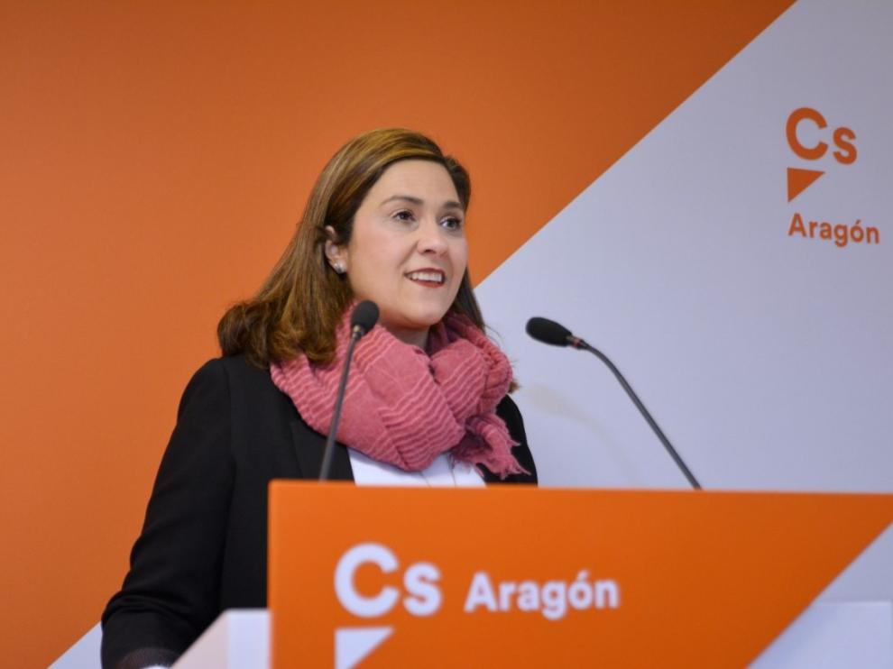 Susana Gaspar anuncia que no concurrirá a las primarias de Ciudadanos en Aragón