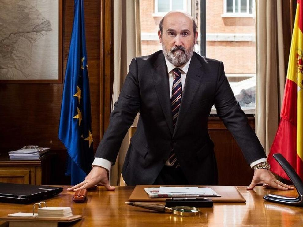 "Javier Cámara se convierte en político en la nueva serie ""Vota Juan"""