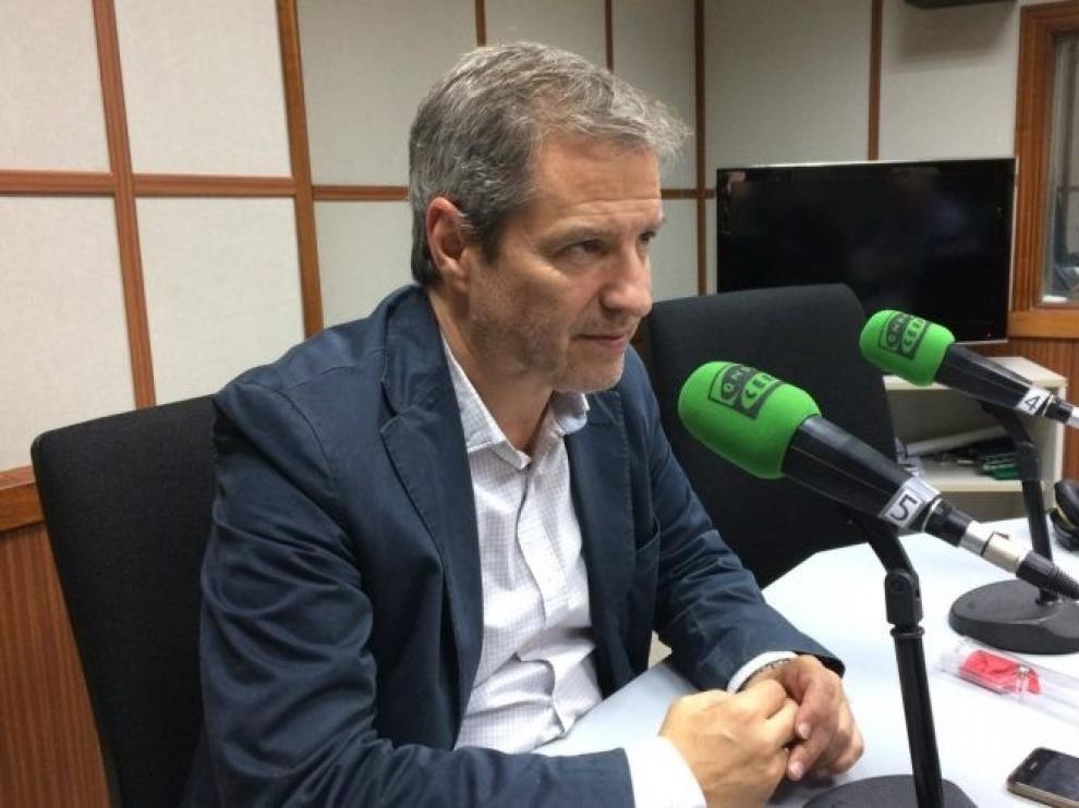 El periodista Daniel Pérez optará a las primarias de Cs para presidir Aragón