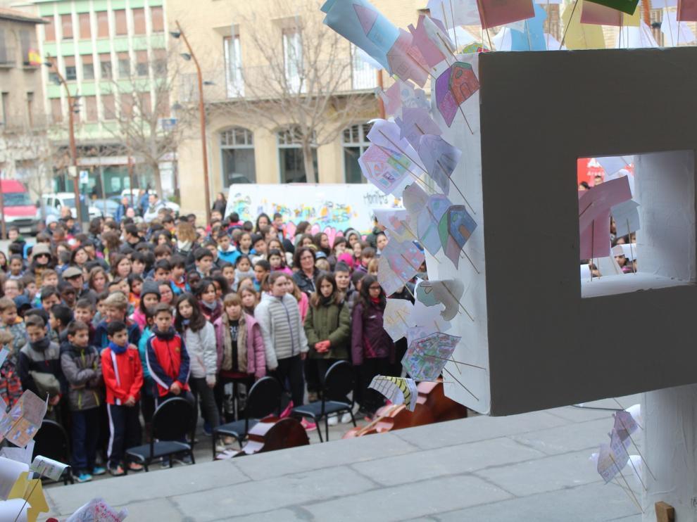 Monzón centrará en la igualdad su celebración del Día Escolar de la No Violencia y la Paz