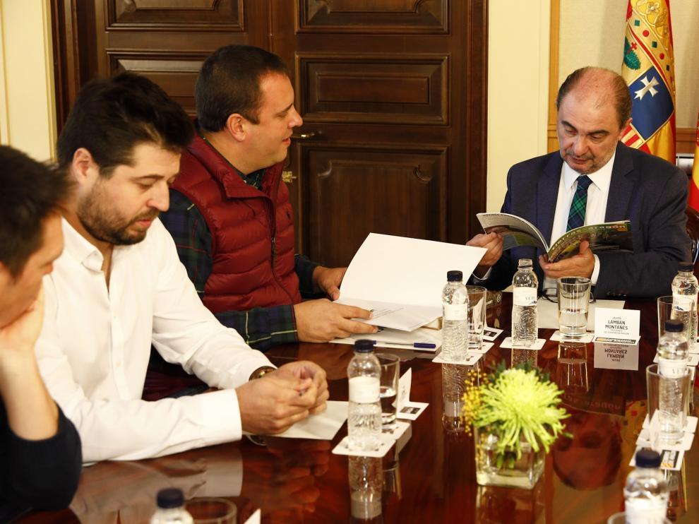 Aragón impulsará una ley para regular la representatividad de las organizaciones agrarias