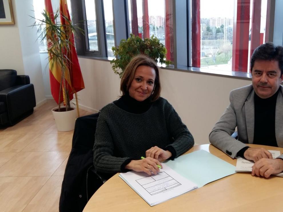 El Ayuntamiento de Huesca y el Gobierno de Aragón colaboran para impulsar la apertura del Círculo Católico