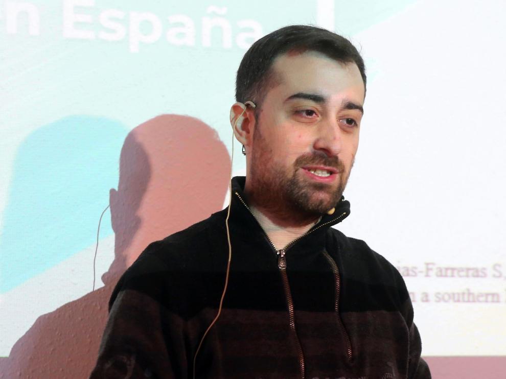 """Francisco Daniel Vinués: """"Hoy en día la ansiedad y la depresión afectan al 10 % de la población"""""""