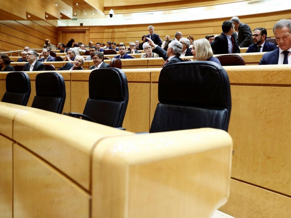 El PP no logra que Sánchez acuda al pleno del Senado