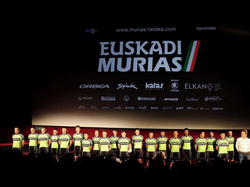Euskadi Murias, con renovadas ilusiones