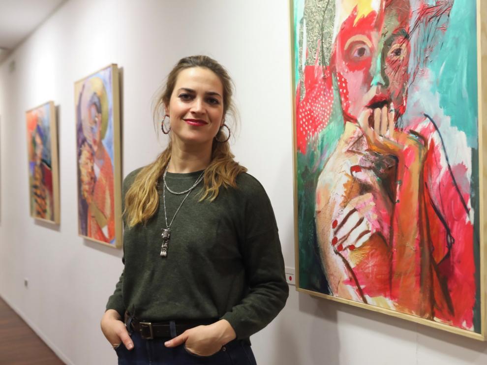 """Clara Sancho-Arroyo: """"La pintura es para mí un refugio, un lugar en el que ser"""""""