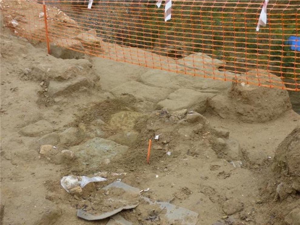 El PP de Barbastro lleva al pleno los hallazgos arqueológicos del barrio de Santa Bárbara