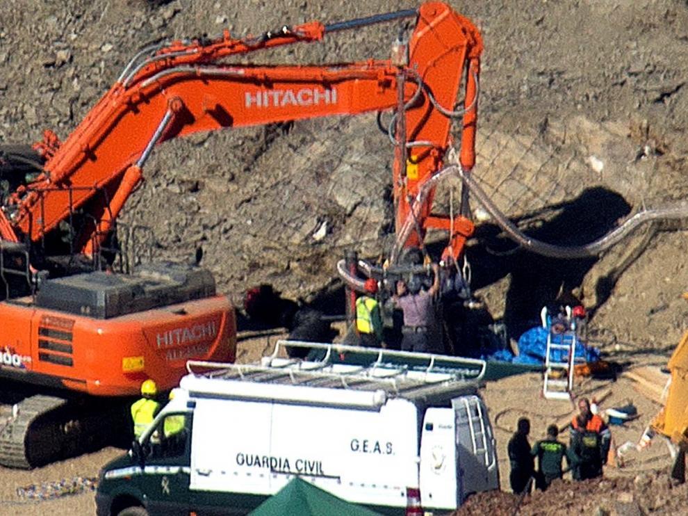 Los mineros están a 85 centrímetros del lugar en el que se sitúa a Julen