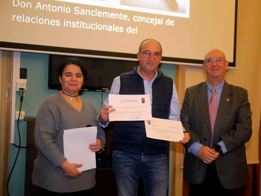 Leandro Martínez gana el concurso de la Asociación de Hipoacúsicos de Huesca