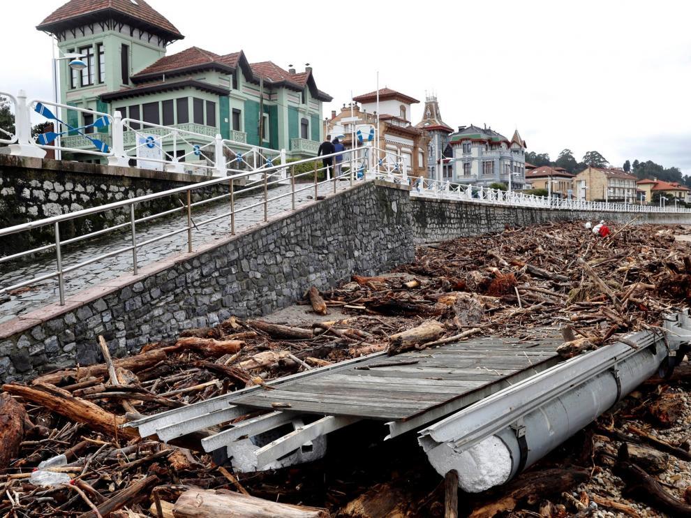Asturias recobra la normalidad y empieza a evaluar daños