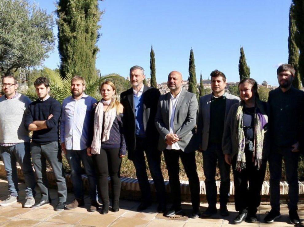 Los líderes regionales de Podemos piden cooperar