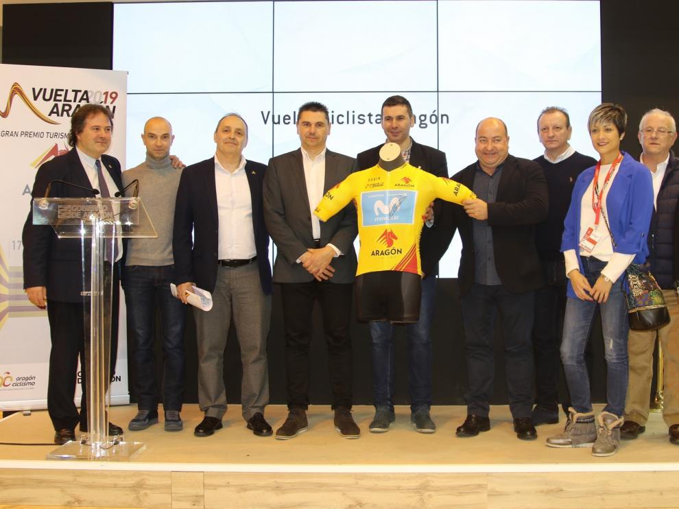 La Vuelta Aragón 2019 presenta su recorrido en FITUR