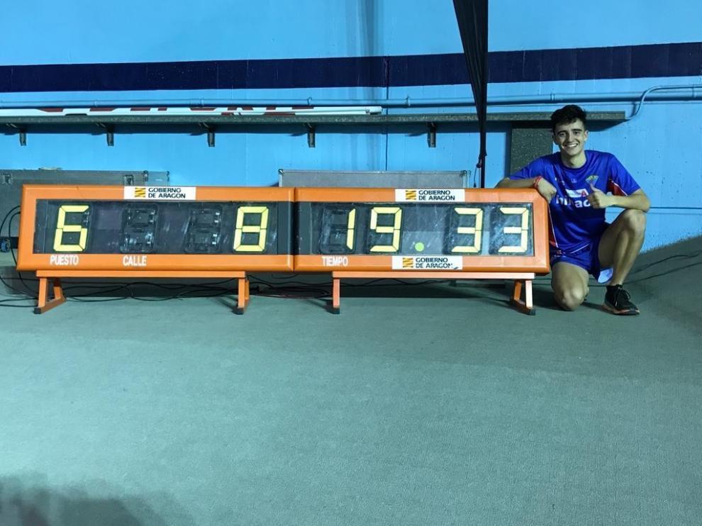 Pol Oriach, récord de España Sub-18 en 3.000
