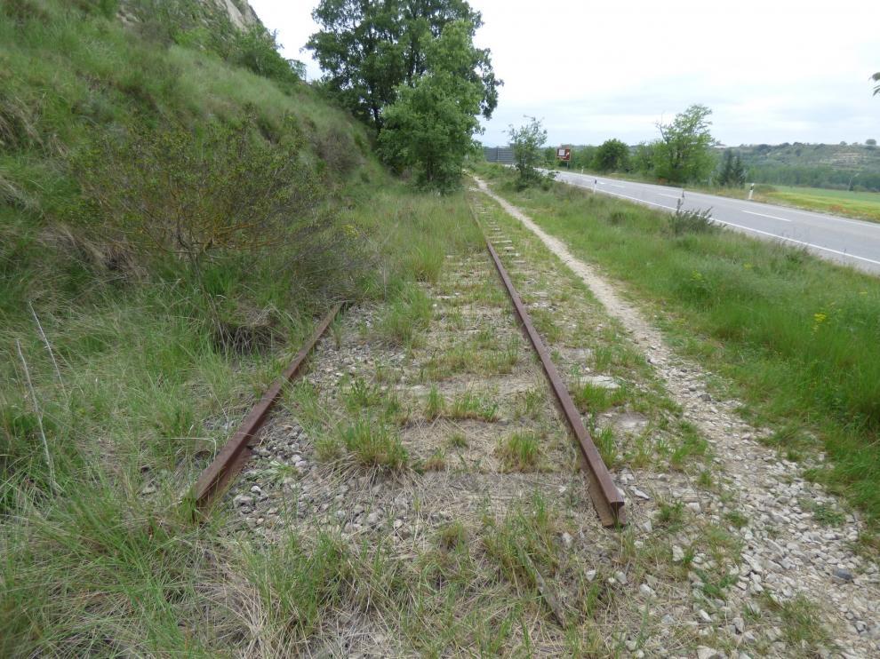 El PAR de Barbastro pide que un panel informativo recuerde el paso del tren por la localidad