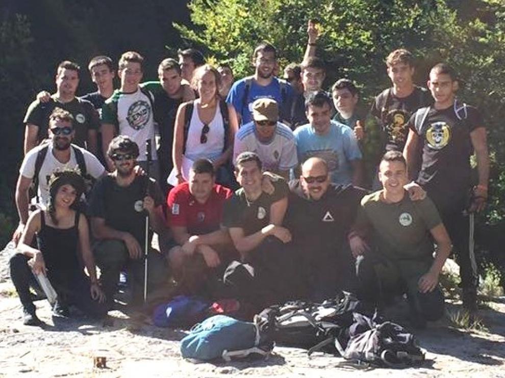 Curso pionero en formación forestal en el instituto de Formación Agroambiental de Jaca