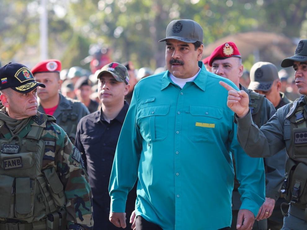 """Maduro tilda de """"insolencia"""" el ultimátum europeo"""