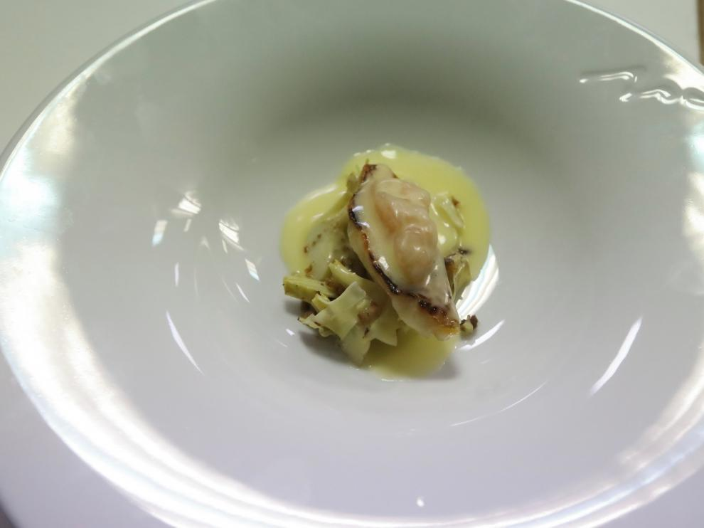 Paulo Airaudo trae a Huesca su personal forma de cocinar con platos de Amelia