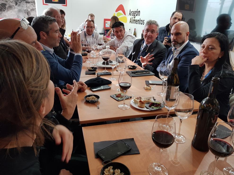 """Aragón comparte sus """"secretos"""" alimentarios y gastronómicos en Madrid Fusión"""