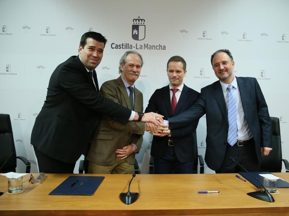 Acuerdo de colaboración entre la Fundación Hidrógeno Aragón y el Centro Nacional del Hidrógeno