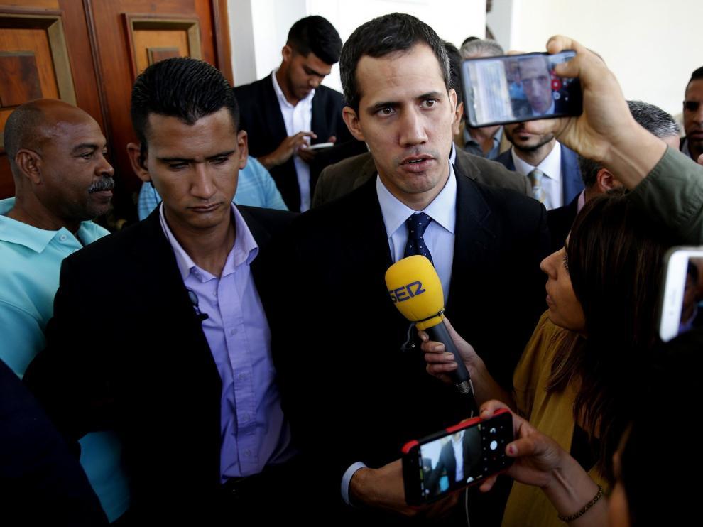 Las víctimas en los actos de apoyo a Guaidó se elevan a 40