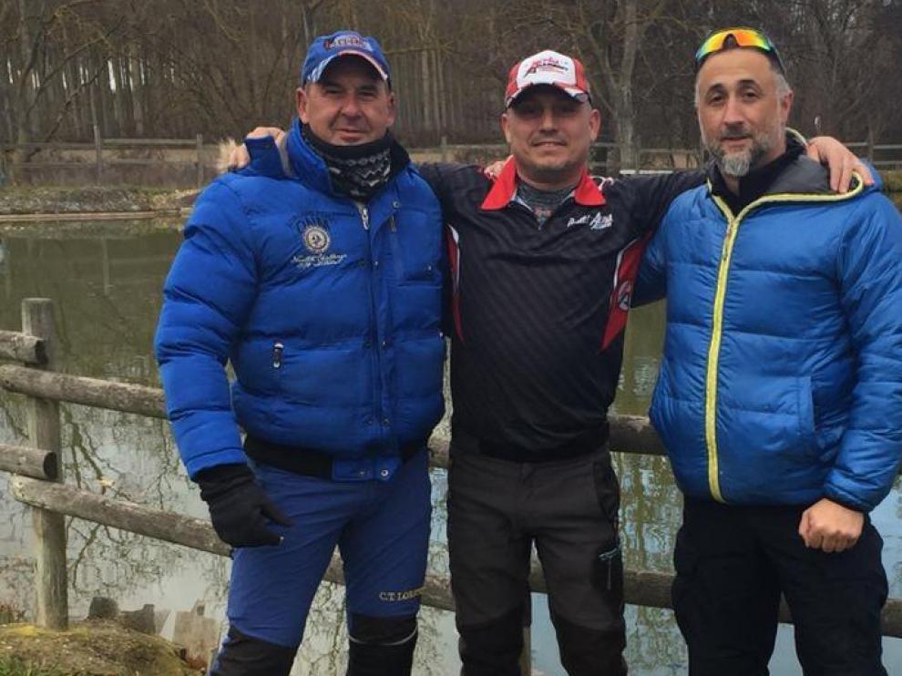 Doblete oscense de Turiégano y Nicolás en el Campeonato de Tiro celebrado en Álava