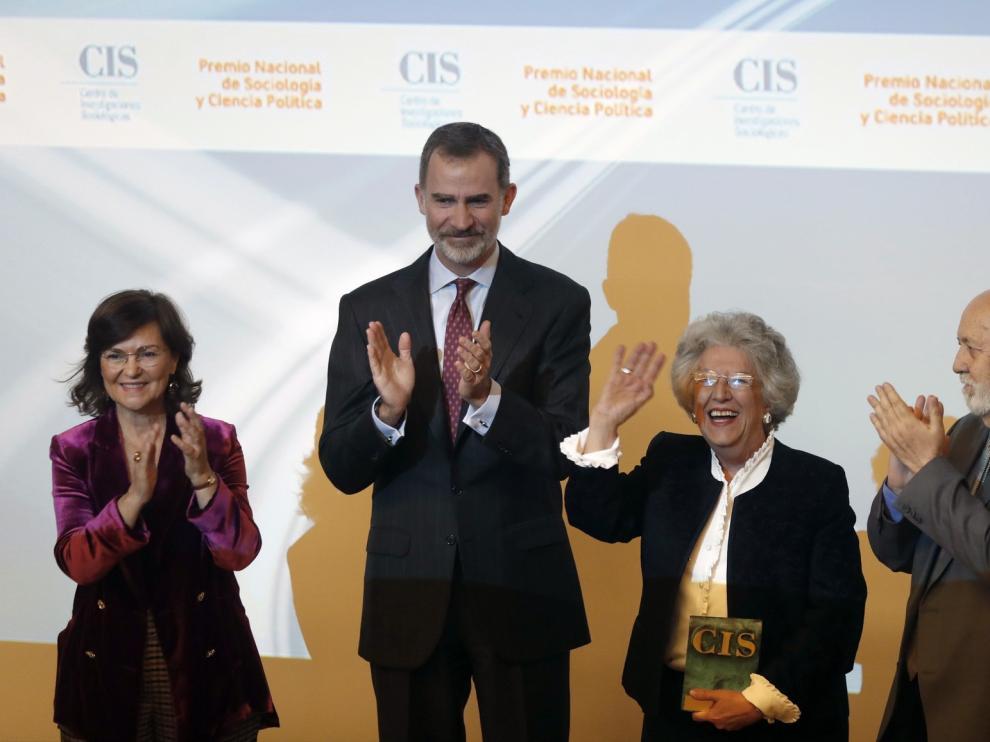 María Ángeles Durán, primera mujer Premio Nacional de Sociología