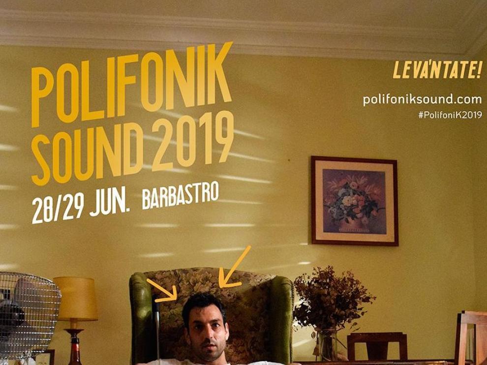 """La campaña """"Levántate!"""", se convierte en reclamo de la duodécima edición del PolifoniK Sound"""