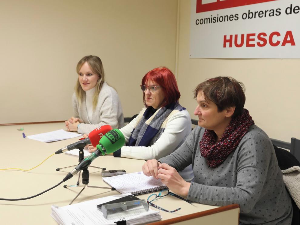 Las acciones de CCOO en Huesca tuvieron una inserción laboral superior al 40 %