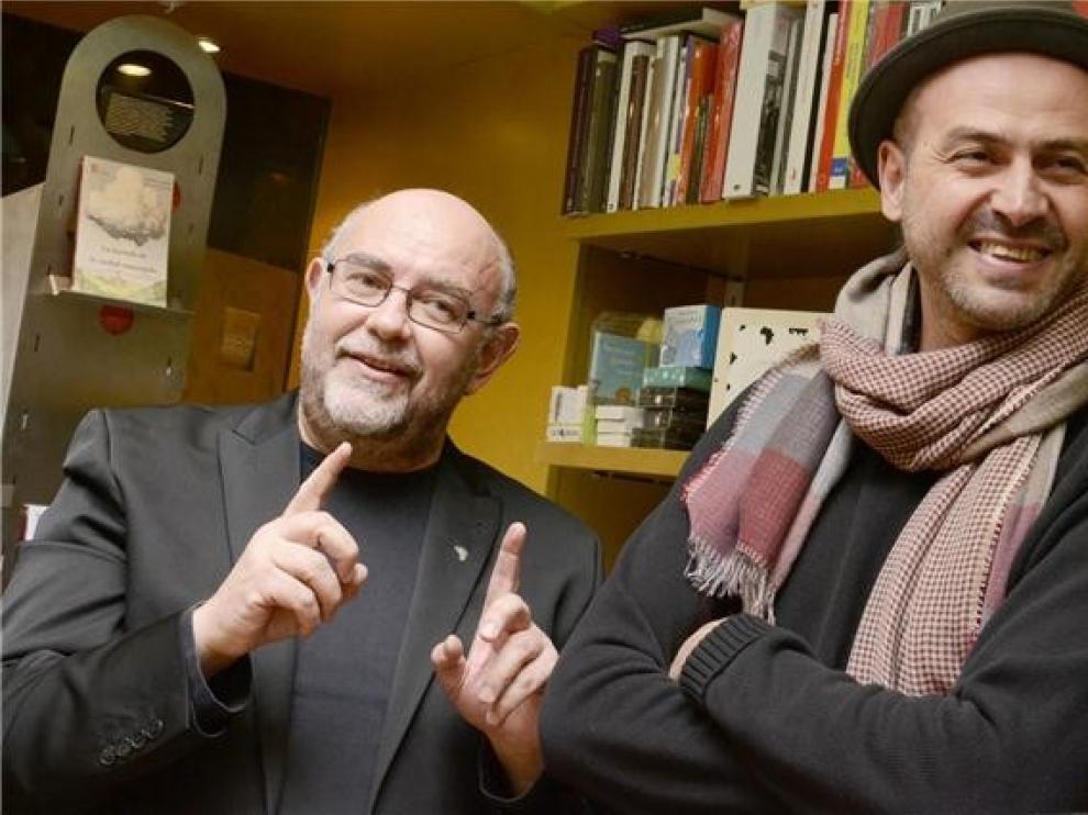 Antón Castro y Javi Hernández presentan en Barbastro este viernes sus libros más recientes