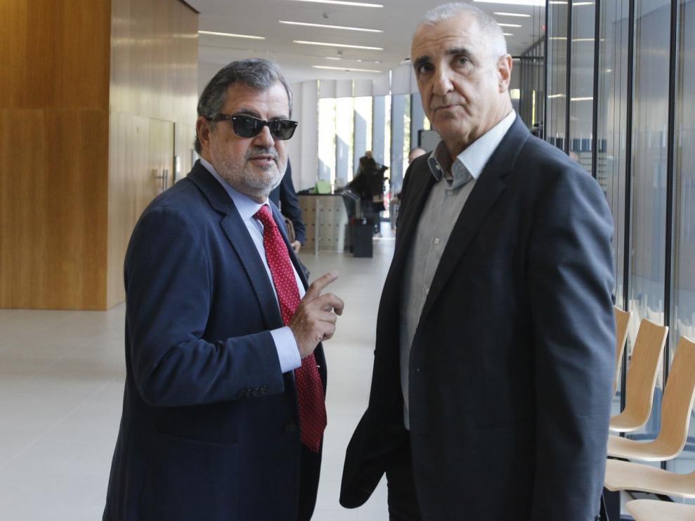 El Juzgado de Huesca mantiene la suspensión de la prisión a Alonso por destuir la Cueva de Chaves