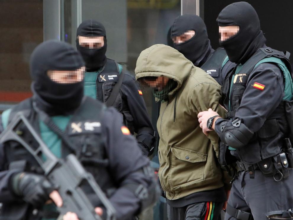 El juez envía a prisión al yihadista detenido el martes en Zaragoza