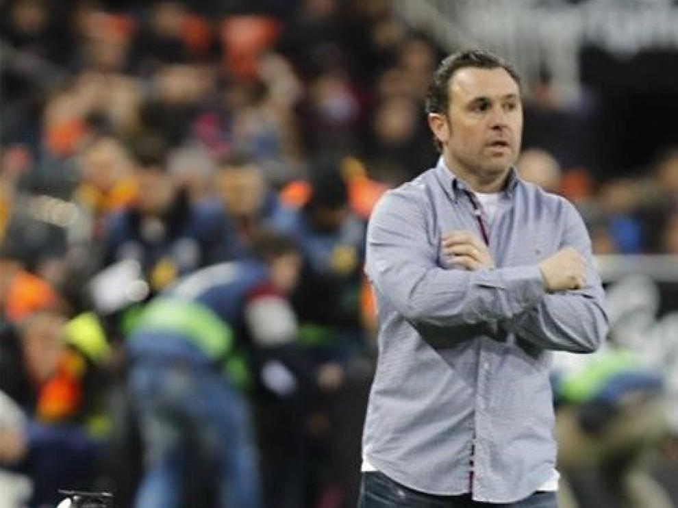 """Sergio González: """"El Huesca merece muchos más puntos de los que tiene"""""""