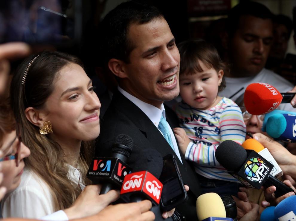 La Eurocámara reconoce a Guaidó como presidente de Venezuela