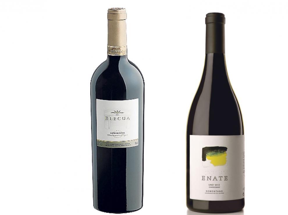 Los vinos del Somontano están entre los mejores