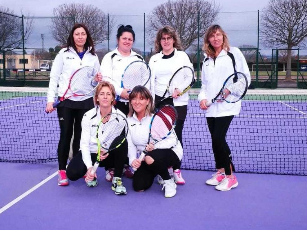Ocho equipos altoaragoneses inician su andadura en el Veteranos+45 y cadetes de tenis