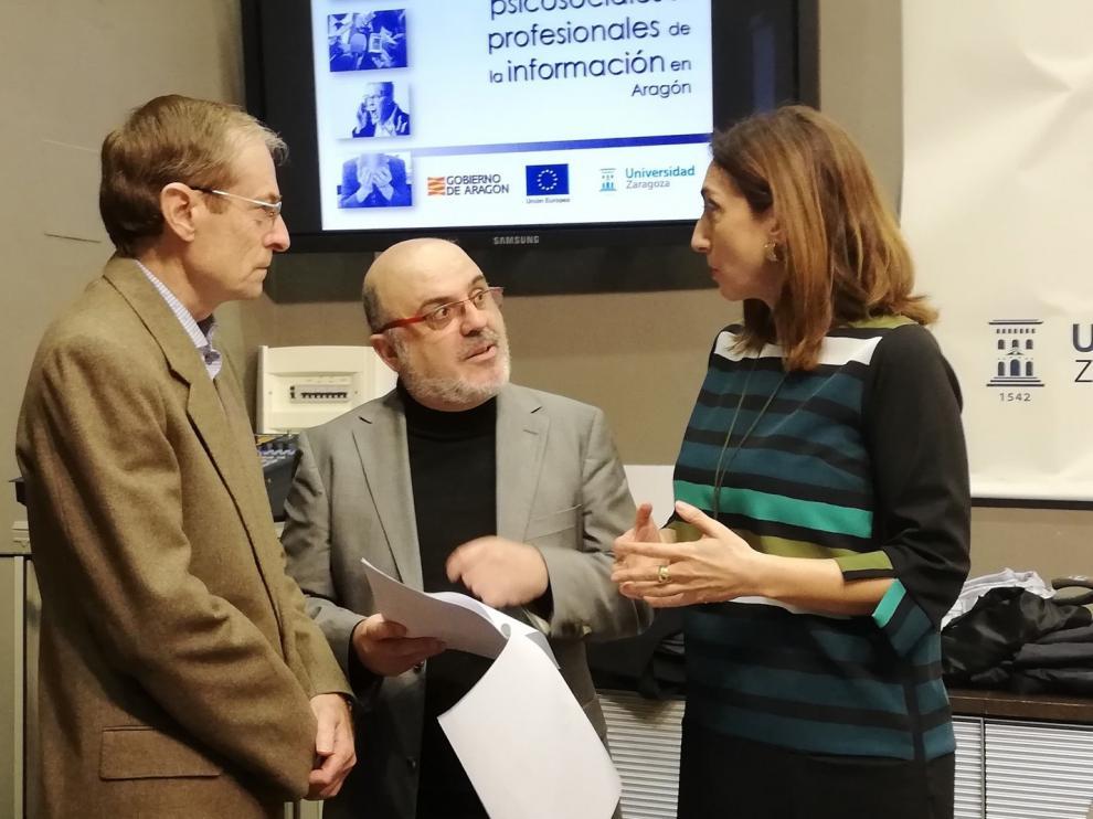 Tres de cada diez periodistas de Aragón sufren estrés elevado