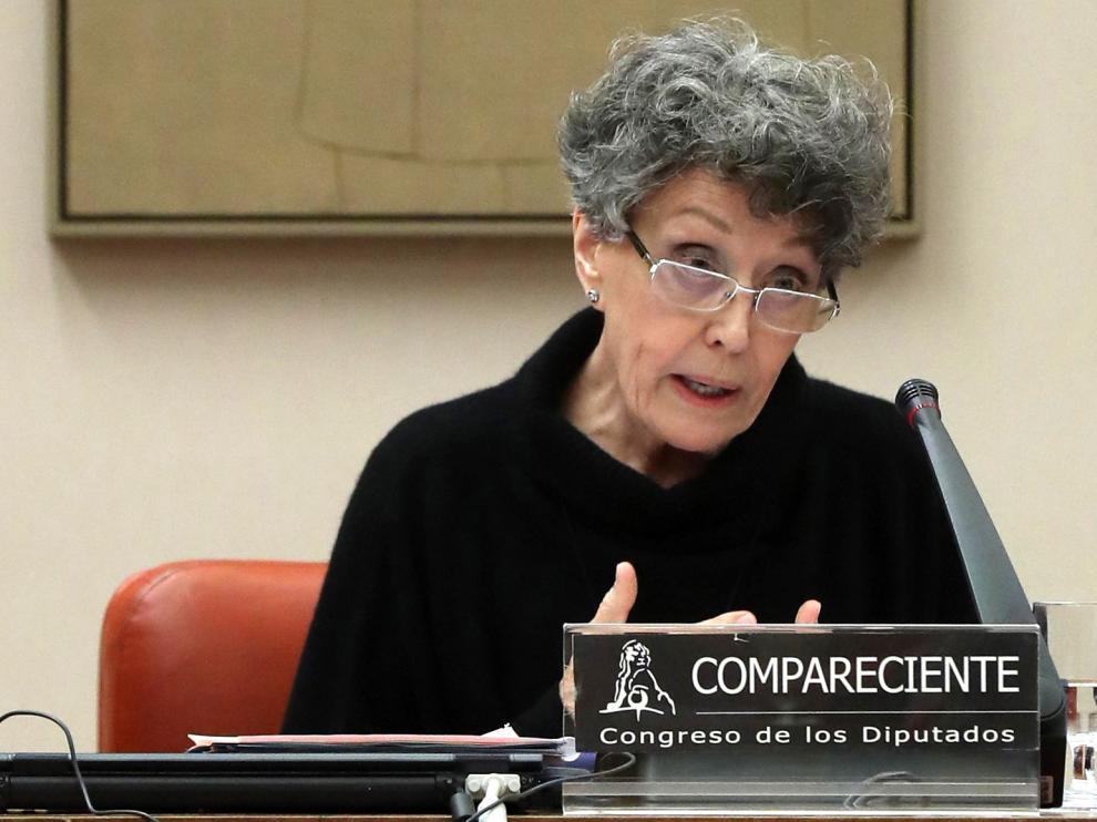 """Rosa María Mateo admite """"flojas"""" audiencias, pero afirma que RTVE es """"mucho más libre"""""""