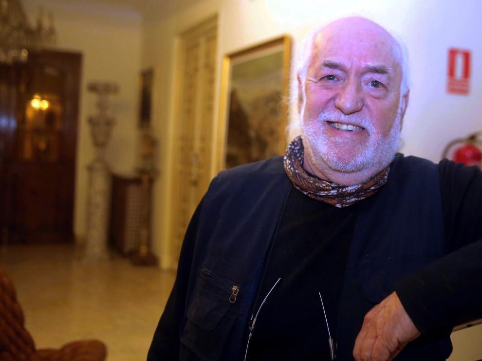 """Eugenio Monesma Moliner: """"Llevo documentados sesenta lagares rupestres en el norte de Aragón"""""""