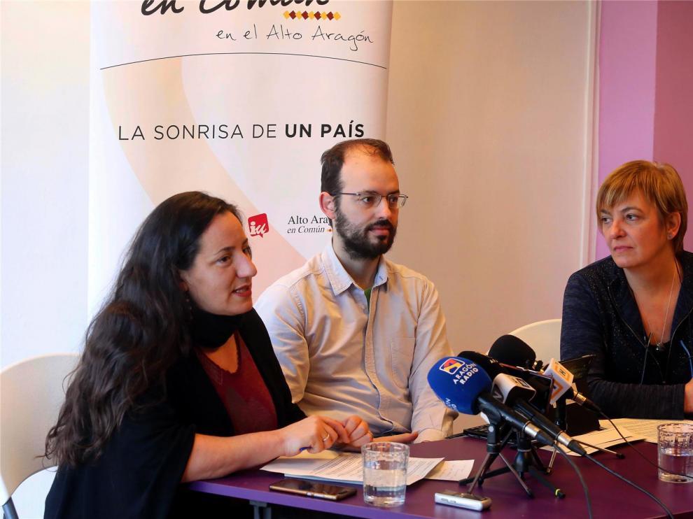 """Podemos considera """"insuficientes"""" las inversiones en infraestructuras en la provincia de Huesca"""