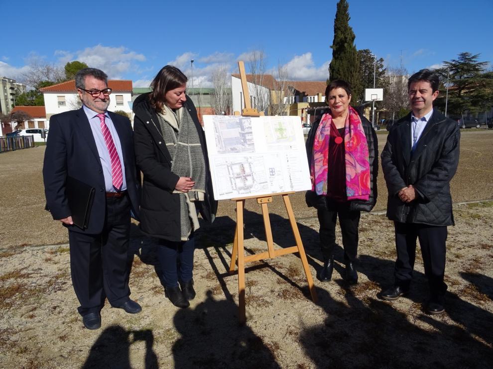 El solar de la antigua cárcel de Huesca se urbanizará este año con más de 900.000 euros